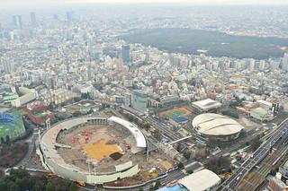 National Stadium (2015), Tokyo