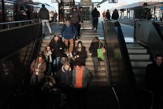 passengers 8@Central station, Düsseldorf