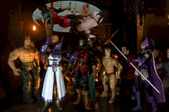 Paprihaven 1309 (MayorPaprika) Tags: canoneos50d huntress dcdirect birdsofprey drmidnite universe alley back dark fight fire escape generic knockoff bootleg shfiguarts skyhigh rockbison tigerandbunny 112 custom diorama toy story paprihaven action figure set 80s 90s