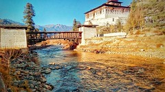 #bhutan #old #history #sun_kissed #love #river #scenario #painting The nature has infinite number of colors to paint it's painting (KuttusH's) Tags: scenario bhutan old love river history painting sunkissed