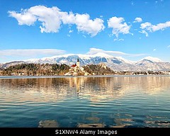 Photo accepted by Stockimo (vanya.bovajo) Tags: stockimo iphonegraphy iphone lake bled slovenian alps slovenia sunset sunrise reflection winter snowy nobody landscape julian panorama panoramic scenic nature outdoors