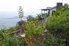 Big Sur Coast (15) (AntyDiluvian) Tags: california coast bigsur sea waves surf hillside highway road cliffs highway1 fog lucia lucialodge restaurant lodging