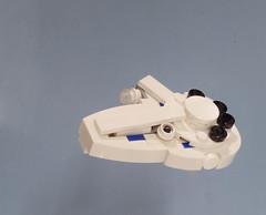 Kessel Run Millennium Falcon (Tino Poutiainen) Tags: lego legomoc microscale ship star wars disney space scifi theme legobuild mini scale