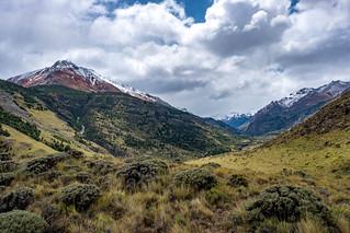 Valle Aviles with Cerro Colorado in the background