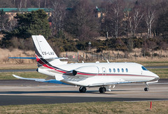 EGLF - Cessna 680A Citation Latitude - CS-LAU (lynothehammer1978) Tags: eglf fab farnborough farnboroughairport cslau cessna680acitationlatitude