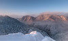 Sokolica winter (Dariusz Wieclawski) Tags: pieniny morning mistymorning mist misty fog dawn sundawn mountains mountainsclouds nikon nikond700 nikondslrcarlzeiss distagont3518 zf2 availablelight winter gory swit leefilters lee leegrad