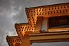 Chedi of Wat Saket (Golden Mount) (Thomas Mulchi) Tags: watsaketratchaworamahawihan pomprapsattruphaidistrict bangkok thailand 2017 bells ornaments warmlight detail krungthepmahanakhon th