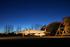 Blue Hour Phantom (gooey_lewy) Tags: time line events charter shoot raf royal air force cold war jet aircraft plane has hardened shelter wattisham suffolk wsh sation heritage station phantom xt914 mcdonnell douglas fgr2 56 74 squadron display armed night twilight dark blue hour trees