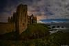 Slains Castle At Night (john&mairi) Tags: new slains castle cruden bay aberdeenshire scotland night nightime sea le light pollution peterhead haunted derelict abandoned