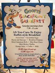 Goofy's Beachfront Breakfast