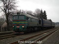 UZ 2M62-1107 Sokyryany (Csaba Szarvas) Tags: uz 2m62 2m621107 chernivtsi sokyryany ukrajna ukraina moldova cross border szergej taigatrommel locomotive train