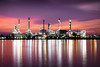 Petrochemical plant area in morning with reflection in river (Patrick Foto ;)) Tags: blue chemical chemistry chimney closeup construction energy engineer engineering environment equipment evening factory fuel gas gasoline global golden heavy industrial industry light manufacturing metal morning night oil petrochemical petroleum pipe pipeline plant pollutant pollute pollution production refine refinement refinery rotterdam sky smoke steam storage structure sunrise sunset sustainable tank technology twilight tambonbangkobua changwatsamutprakan thailand th