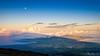 Haleakala Shadow (Evan Gearing (Evan's Expo)) Tags: hawaii maui places type bluemoon fullmoon haleakala moon morning shadow sunrise