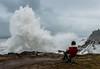 Watchin' the Show (Ranbo (Randy Baumhover)) Tags: oregon oregoncoast pacificocean waves water breakers charleston shoreacres