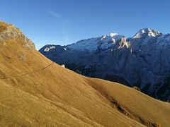 Pordoi Pass (Aleksandr Zykov) Tags: pordoipass italy tyrol alps mountains trentino dolomites hiking veneto marmolada