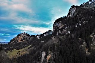 View from Neuschwanstein.