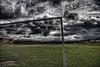 Goal (Gordon McMillan) Tags: hdr canon lightroom photoshop 40d photomatix football clouds scotland edinburgh 3xp