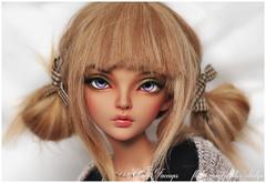 MNF Sircca for Edenwolfish (Eludys) Tags: minifee fairyland dollfairyland mnf bjd doll abjd faceup makeup commission sircca tanned tan skin ts fairyline