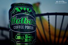 Beer For Coffee Lovers (Hi-Fi Fotos) Tags: beer can oskarblues brew craft coffee porter hotbox alcohol colorado label drink nikkor 50mm nikon d7200 dx hififotos hallewell