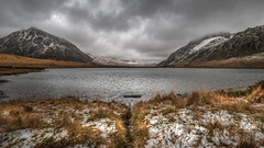 Eyes wide open... (Einir Wyn Leigh) Tags: lake view winter mountain water landscape capture love walking january snow outside light colorful wales snowdonia