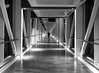 Bridge (lamasaba) Tags: bridge bw architicture leading lines black white shapes squares inetl intel