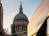 london-2-220218 (Snowpetrel Photography) Tags: christopherwren london olympusem5markii olympusm1240mmf28 afternoonlight architecture cathedrals churches cityscape domes modernarchitecture reflections sunset urbanlife winter england unitedkingdom