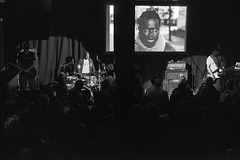 Asian Dub Foundation: La Haine Live (bandonthewall) Tags: asiandubfoundation bandonthewall newnorthandsouth soundtrack concert live manchester gig lahaine screening film