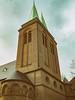Kreuzkirche (snej1972) Tags: privat fotos photographie fotografie dortmund tremonia nrw germany deutschland kiez viertel rain rainy wet weather wetter