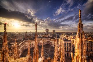 Torre Velasca Sunrise