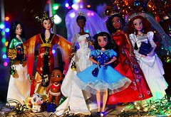 (Lindi Dragon) Tags: doll disney disneyprincess disneystore dolls mattel barbie mulan moana elena avalor ariel newyear