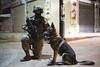 Oketz Canine Unit (Israel Defense Forces) Tags: oketzunit canine k9 dog service army military soldier female combat night cool counterterrorism counterterror german shepherd