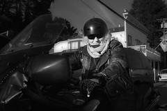 Bolinas, Rough Rider (gcquinn) Tags: bolinas downtown geoff geoffrey motorcycle portrait quinn california usa
