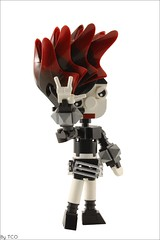 Punk girl \m/ (...The Chosen One...) Tags: lego moc punk girl m
