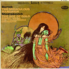 Bartok The Miraculous Mandarin • Shostakovich The Age of Gold - Irving Capitol 1 (sacqueboutier) Tags: vintage vinyl vinylcollection vinyllover vinylnation vinylcollector lp lplover lps lpcollection lpcover lpcollector lpcoverart lpcoverlover records record classical classicalmusic music capitol