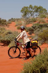 In the sand of the Canning Stock Route