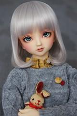 Little bunny (borboletta_blu) Tags: volks coco sd10 sdg purenormalskin ns wig dolk 910inch urethane enchanteddoll eyes ed 18mm milky doll bjd resindoll bunny