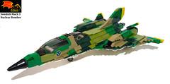Swedish Mach 3 Jormungandr bomber (Eínon) Tags: bomber tactical strategic sweden swedish nuclear cold war mach 3