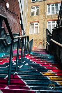 Croydon Street stair Art