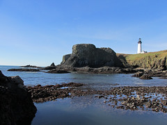 Lighthouse at Yaquina Head in OR (Landscapes in The West) Tags: yaquinaheadnaturalarea pacificcoast oregon yaquinahead pacific ocean pacificnorthwest lighthouse