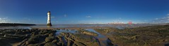 Perch Rock, New Brighton (nickcoates74) Tags: lighthouse perchrock newbrighton panorama 6s iphone mersey wirral