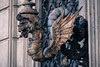 A Dragon Lamp in Rome (Mariene Valesan) Tags: dragon lamp light rome roma italy italia texture rust rusty streetphotography travelphotography travelphoto travel detail architecturedetail