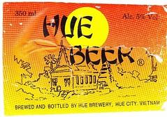 Vietnam - Hue Brewery (Hue City) (cigpack.at) Tags: vietnam england export hue city brewery beer v bier brauerei label etikett bierflasche bieretikett flaschenetikett