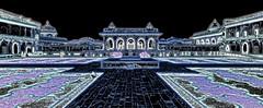 India - Uttar Pradesh - Agra - Agra Fort - Anguri Bagh (Mughal Garden) & Khas Mahal - 8ee (asienman) Tags: india uttarpradesh agra agrafort anguribagh mughalgarden khasmahal asienmanphotography asienmanphotoart
