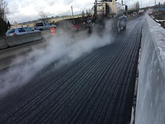 Paving on northbound SR 167 (WSDOT) Tags: renton construction i405 sr167 paving roadway i405sr167interchangedirectconnectorproject