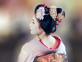 Elégante Maiko ... Kyoto