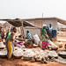 At the market - manioc / cassava
