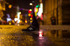 New Balance (parenthesedemparenthese@yahoo.com) Tags: dem bokeh colors couleurs europa europe n newbalance puddle royaumeunie street streetphotgraphy uk unitedkingdom ville canoneos600d chaussure dehors ef50mmf18ii exterieur flaque night outdoors photographiederue shoes streetphotographie town