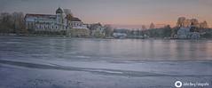 .. ein frostiger Abend am Klostersee in Seeon (john_berg5) Tags: seeon winter kloster lake frozen ice landscape sky sunset bayern bavaria nikond750