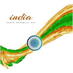 free vector Happy Republic Day Of India With Colorful Flag Background (cgvector) Tags: ashoka background banner card celebrating celebration constitution country culture day democracy elephant ethnic festival flag freedom government green greeting henna hinduism holiday honor illustration independence india indian january justice nation national orange ornate peace poster religion republic saffron strength symbol tricolor vector wallpaper