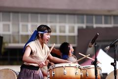 IMG_2479M 臺中市豐原區葫蘆墩文化中心廣場 2018傳統藝術節 十鼓擊樂團 (陳炯垣) Tags: performance stage artist musician drummer festival